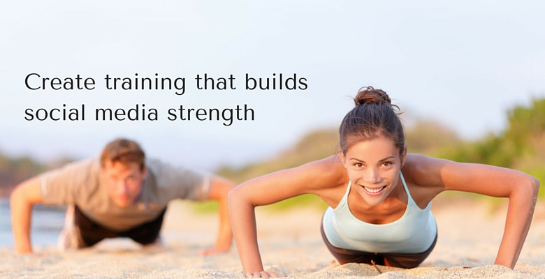 how to put your social media training together