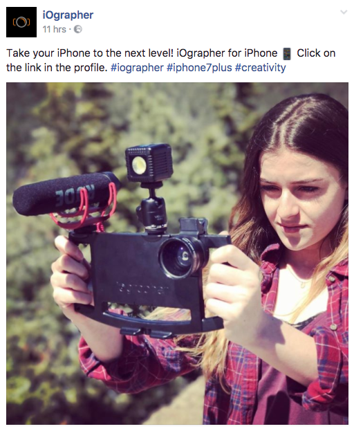 iOGrapher - Livestreaming Kits