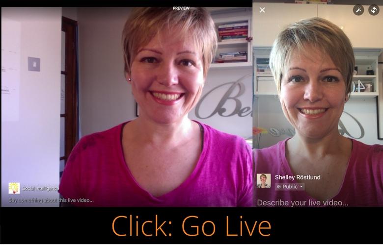 Facebook Live for Business   Shelley Rostlund