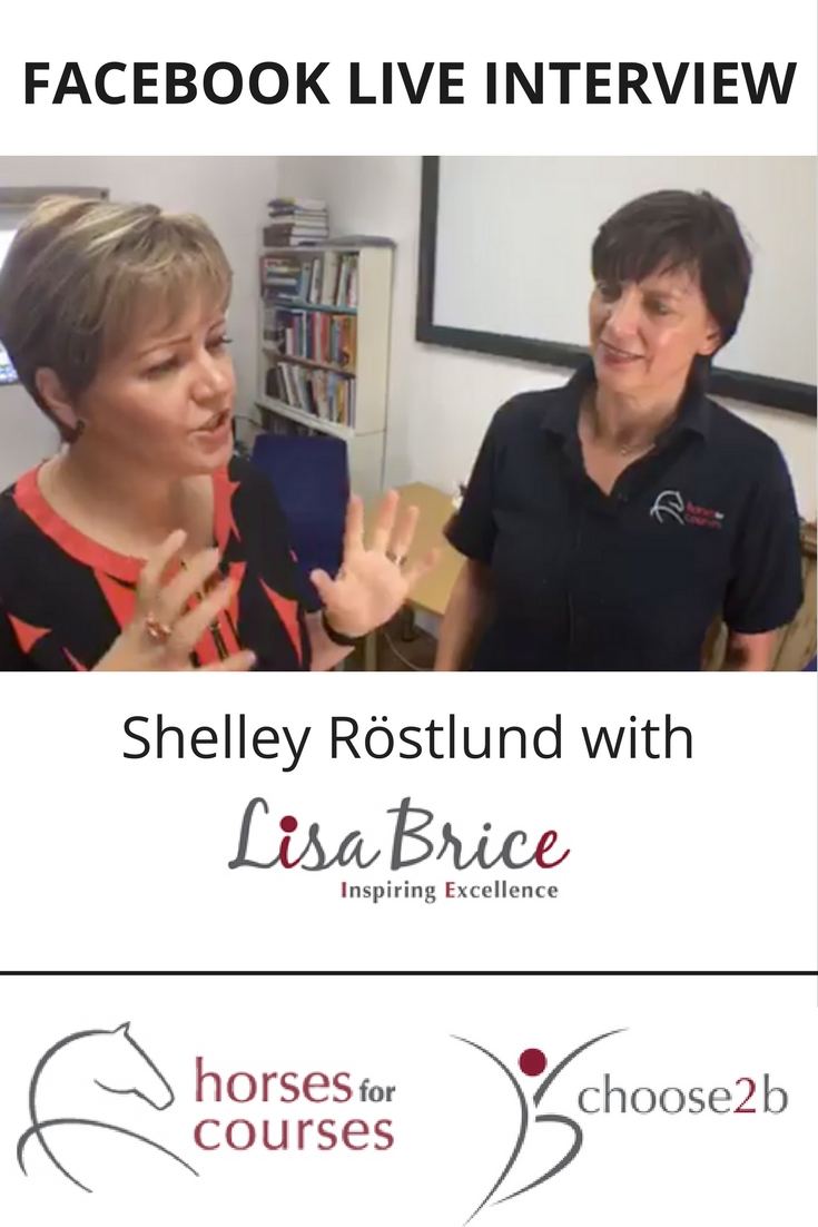 Shelley Rostlund, Digital Consultant at Social Intelligence (Northampton Based Digital Agency) speaks to Master NLP Trainer Lisa Brice. A video interview for you to enjoy and learn more about how this business owner uses social media and digital in her business.